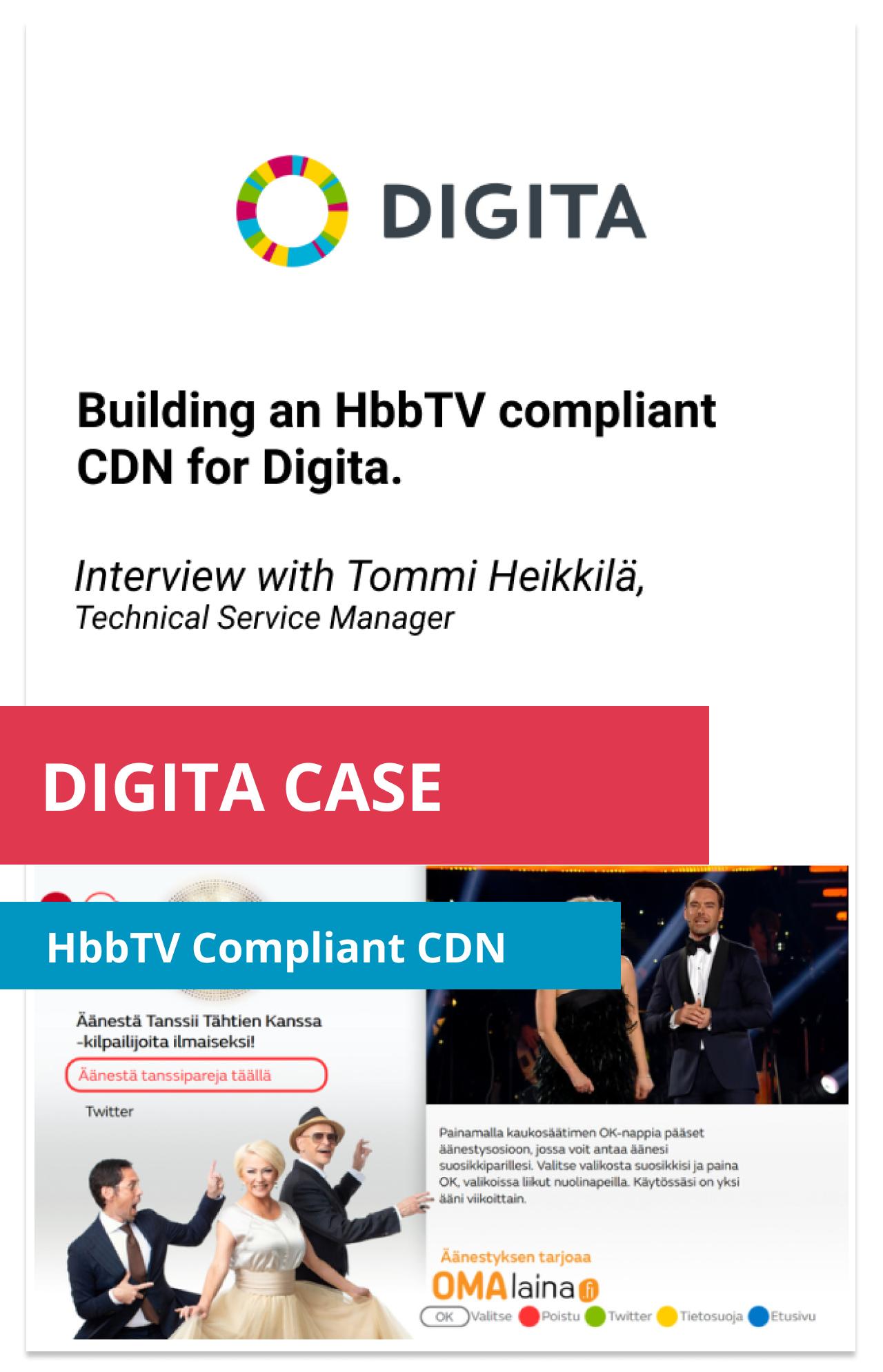 Case Study HbbTV CDN