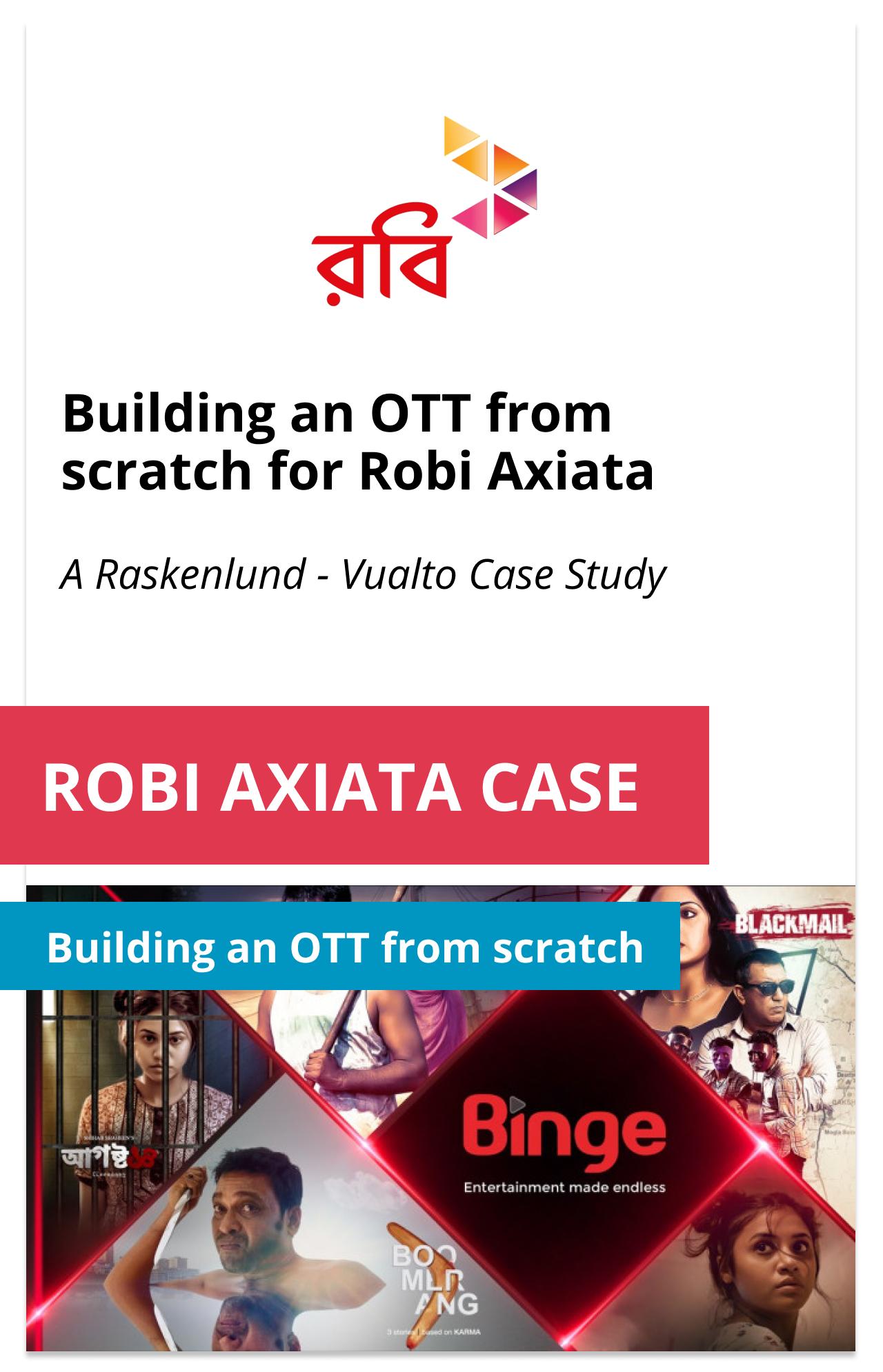 Robi Axiata Case Study